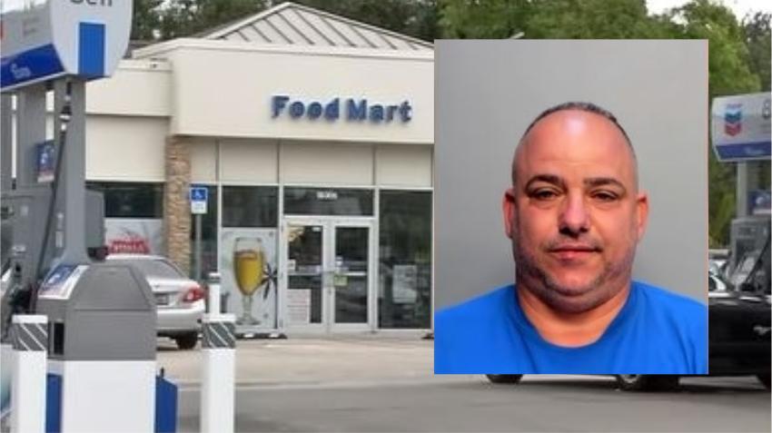 Arrestan a cubano acusado de instalar dispositivo en gasolinera para robar información de tarjetas de crédito
