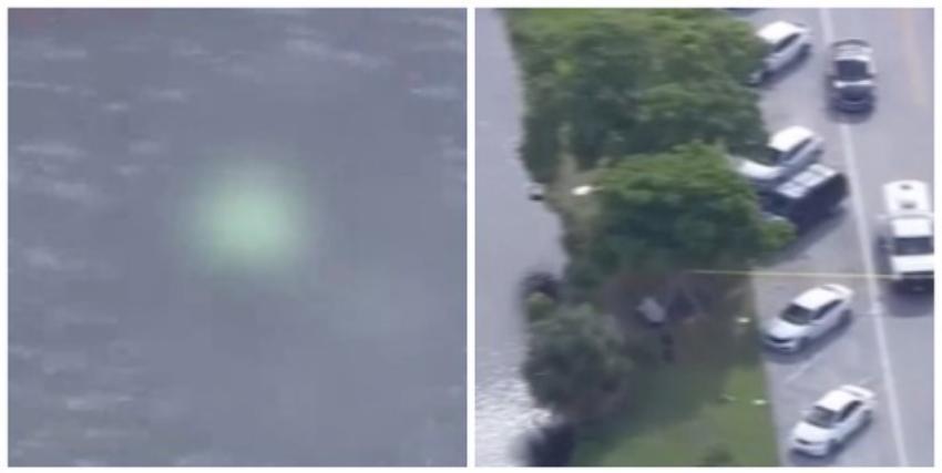 Encuentran un cadáver flotando en el canal de Okeechobee Rd, la policía investiga