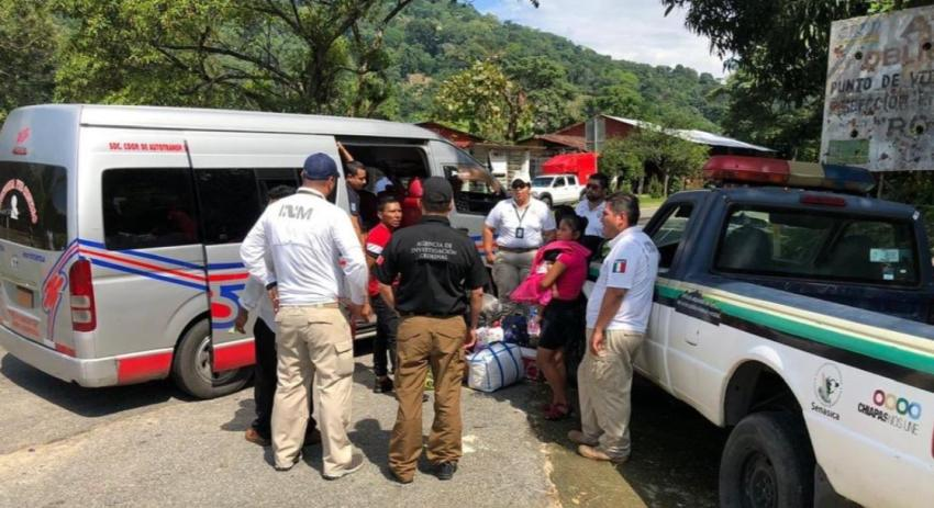 Autoridades mexicanas rescatan a migrantes cubanos de manos de traficantes de personas