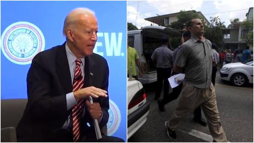 Candidato demócrata Joe Biden pide la libertad inmediata del opositor cubano José Daniel Ferrer