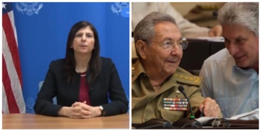 EEUU condena las acusaciones del Gobierno cubano contra diplomática norteamericana en La Habana