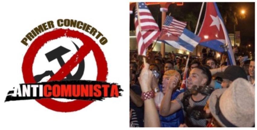 Miami se prepara para el Primer Concierto Anticomunista en EEUU con exiliados cubanos y artistas internacionales