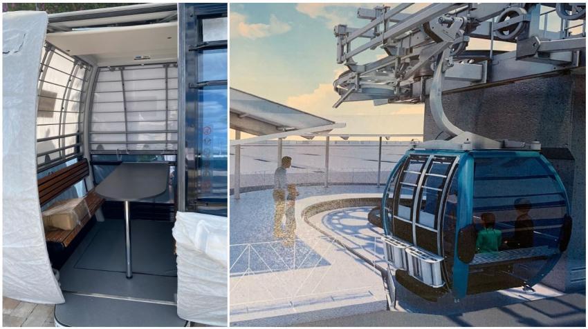Proponen un teleférico dentro del Hard Rock Stadium de Miami que se prepara para el Super Bowl 2020