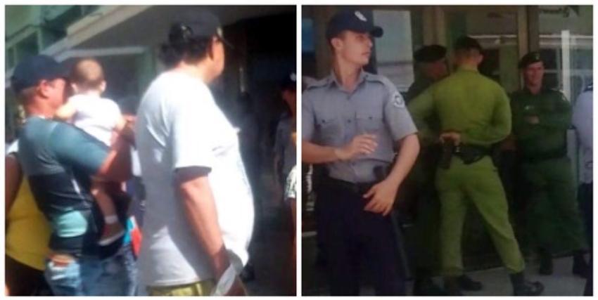 Amplio despliegue policial por la apertura de dos tiendas de electrodomésticos en USD en Camagüey