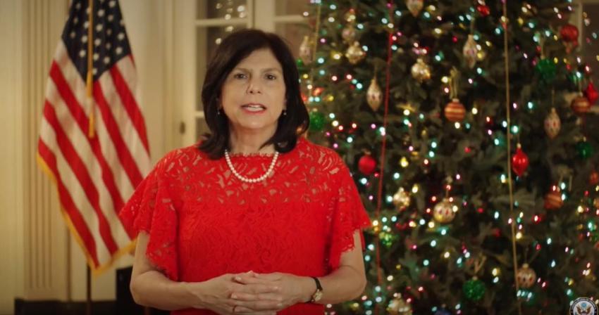 Encargada de negocios de la Embajada de EEUU en Cuba envía mensaje al pueblo cubano por Navidad