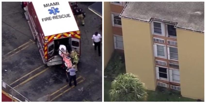Dos heridos tras incendio en un complejo de apartamentos en La Pequeña Habana