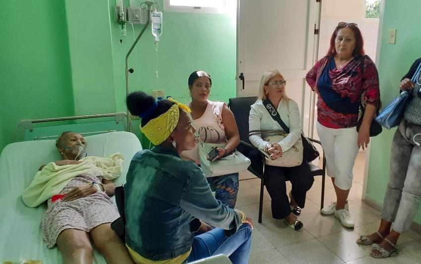 Dama de Blanco Xiomara de la Cruz Miranda ingresó a un hospital habanero por agravado estado de salud