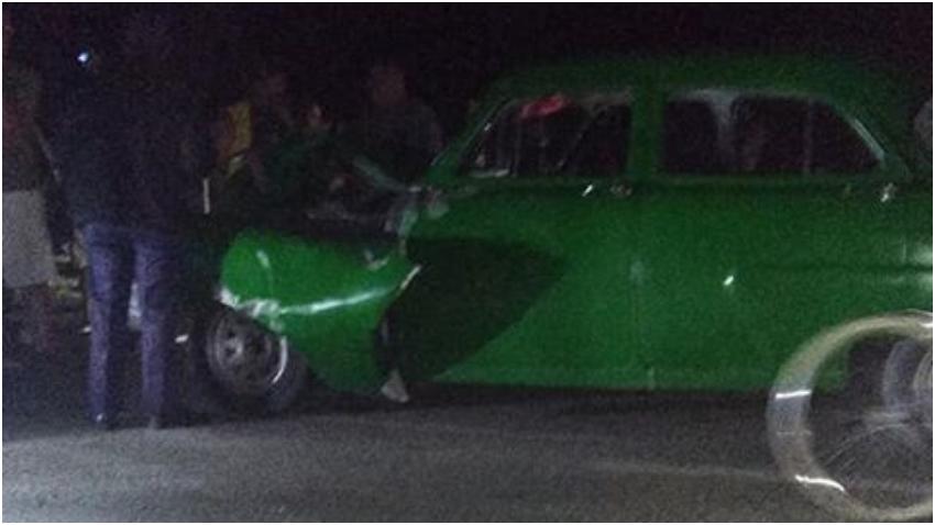 Una vaca muerta tras el impacto con un automóvil en San José de las Lajas, Mayabeque