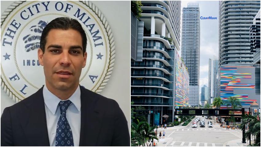 La ciudad de Miami anuncia plan para ayudar a residentes y pequeños negocios en la crisis