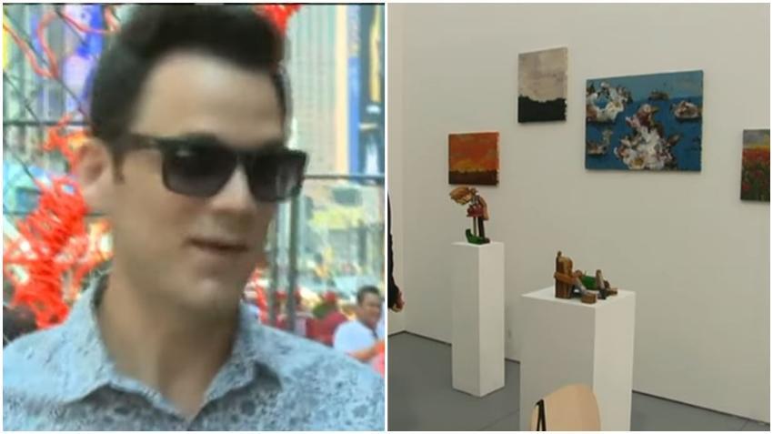 Nieto político de Raúl Castro expone obras en la feria Art Basel en Miami