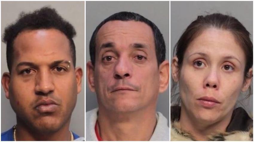Tres personas son arrestadas en Miami por conducir en vehículos robados