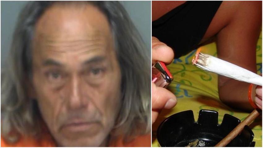 """Hombre de Florida es arrestado por regalar marihuana en las calles """"porque es Navidad"""", dijo a la policía"""