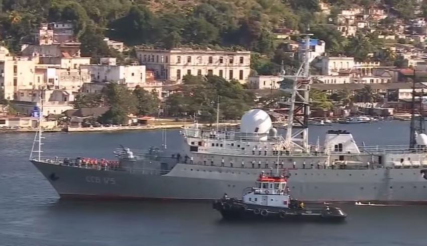 Guardia Costera de Estados Unidos advierte sobre barco espía ruso cerca de la Florida