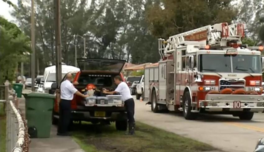Continúan hospitalizados sobrevivientes de incendio en vivienda de Miami donde murieron tres niños; aún se desconoce la causa del siniestro