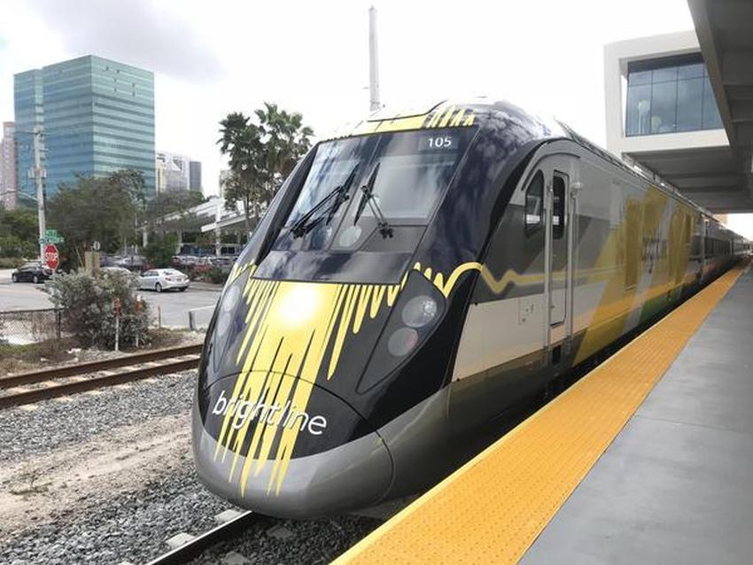 Brightline anuncia estación de trenes rápidos en Disney pudiendo conectar a Miami con los parques de Orlando en un futuro cercano
