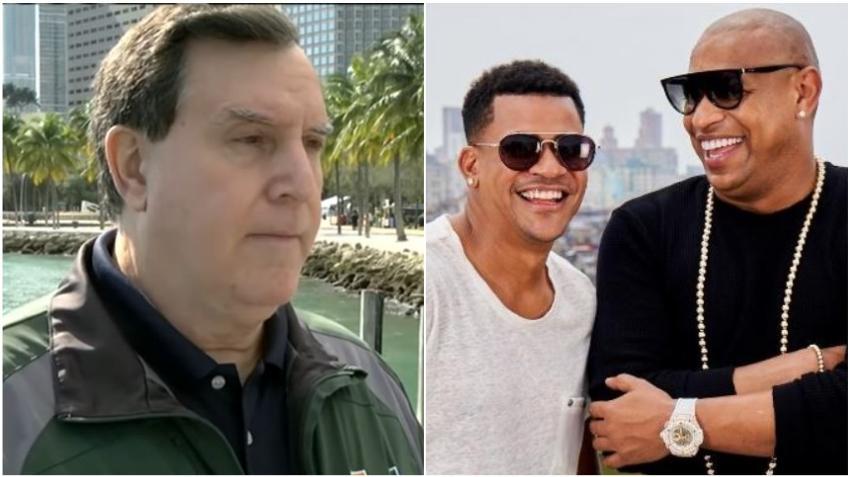 """Joe Carollo asegura que Gente de Zona no se presentará en el Bayfront Park: """"La única posibilidad de que cante Gente de Zona es que Díaz Canel los invite a cantar para él en La Habana"""""""