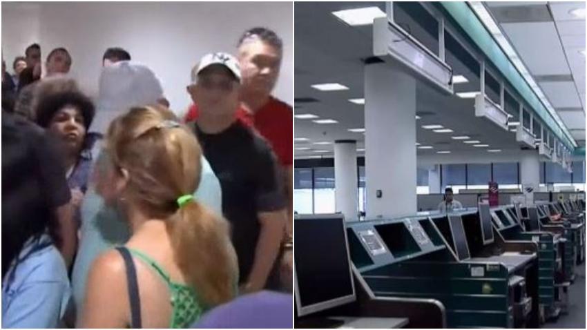 Agencia de vuelos charters deja varados a decenas de cubanos con destino a Cuba en el aeropuerto de Miami