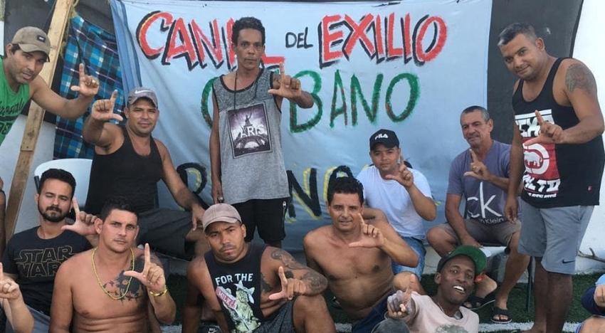 Unos 2.000 migrantes cubanos en la ciudad mexicana de Reynosa, esperando su proceso de asilo político en EEUU