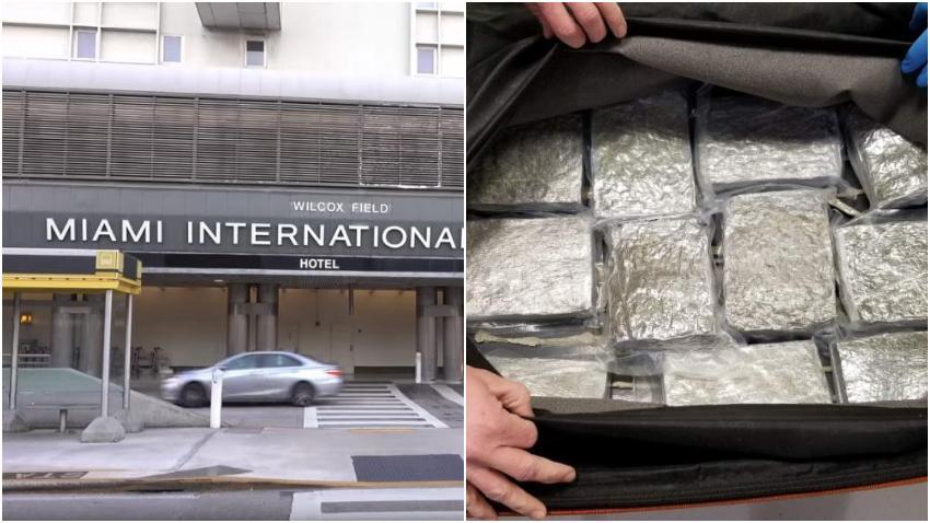 Autoridades interceptan 40 libras de marihuana en el aeropuerto de Miami que venían desde Toronto