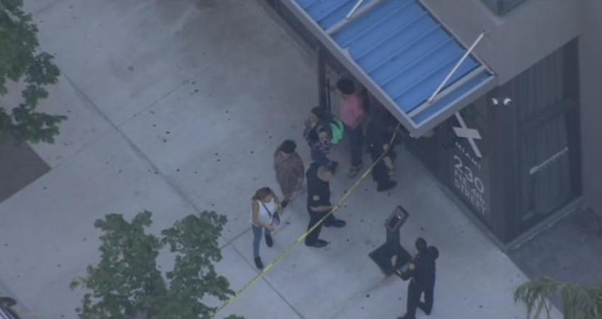 Una mujer hospitalizada tras una disputa doméstica en un edificio en Miami