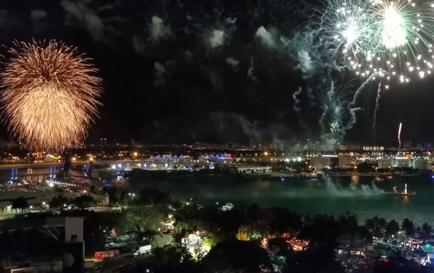 Lugares en Miami para esperar el 2020 y ver los fuegos artificiales