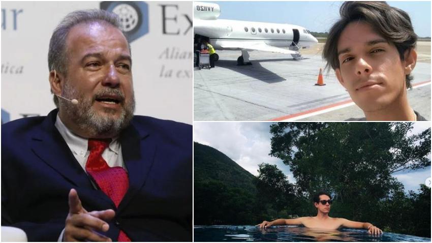 Hijo de Manuel Marrero, Primer Ministro de Cuba, se da la buena vida en la isla