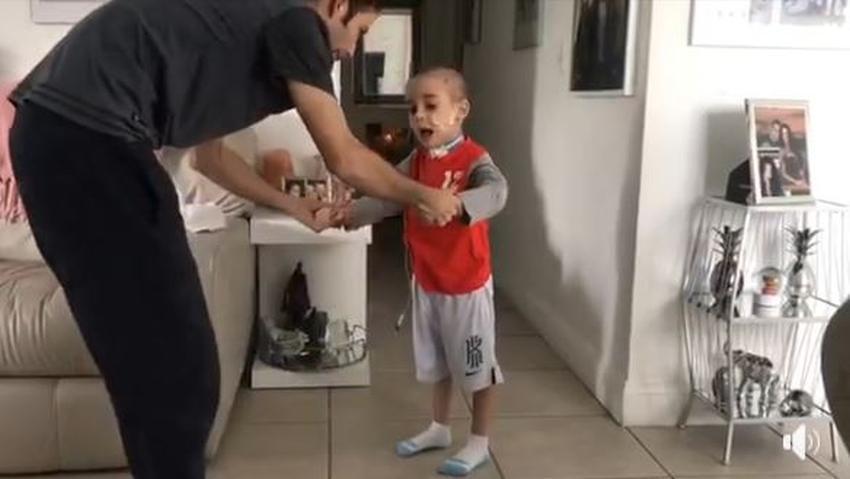 Recaudan fondos en un concierto de Navidad en Miami, para el tratamiento de Jhan Lucas, el niño cubano operado de un tumor