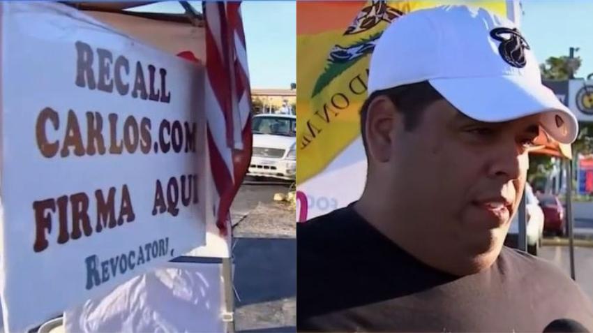 Cubano de Hialeah denuncia acoso policial como represalia por llevar a cabo campaña para destituir al alcalde de la ciudad