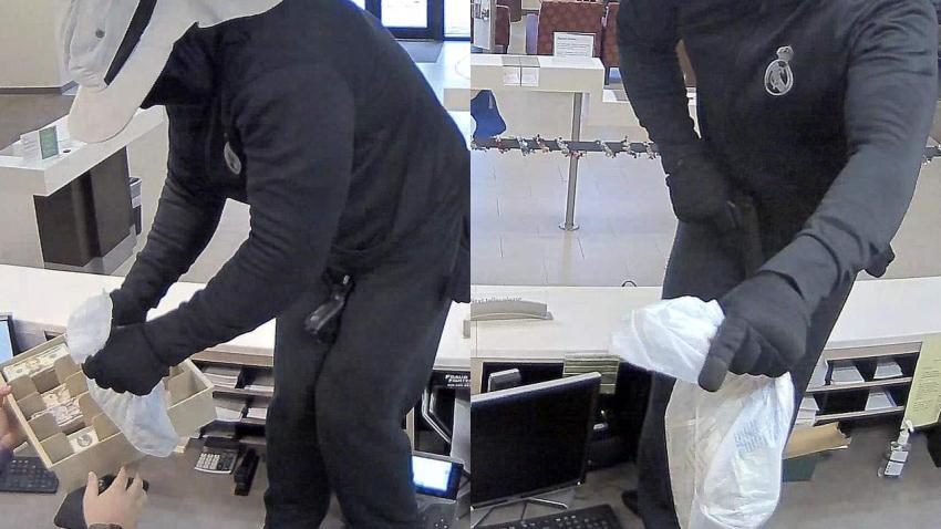 FBI busca a ladrón de banco en bicicleta que vestía el escudo del equipo del Real Madrid