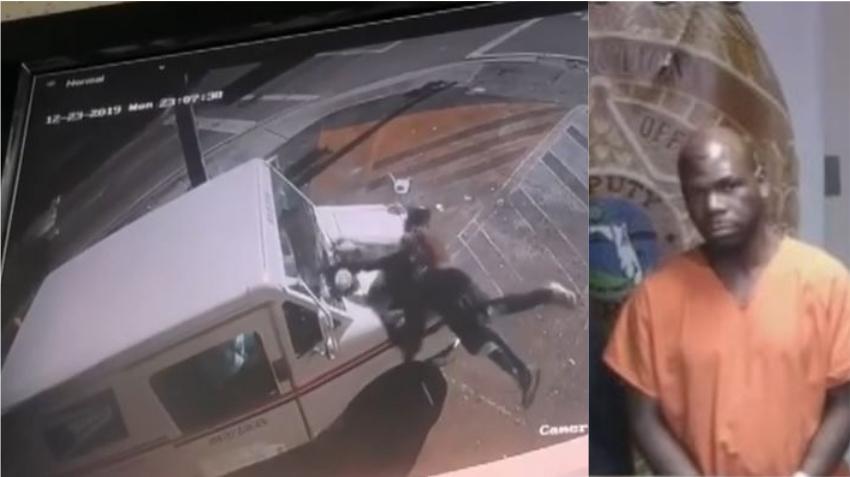 Hombre de Miami es arrestado por atacar a una trabajadora de la oficina de correos