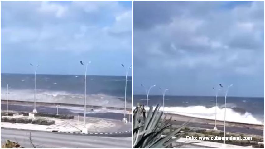 El INSMET emite aviso por inundaciones costeras al occidente de Cuba