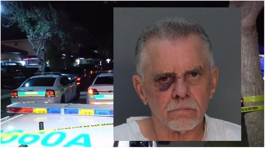 Identifican a hombre cubano que mató a tiros a su hijo y nuera en una vivienda de Miami