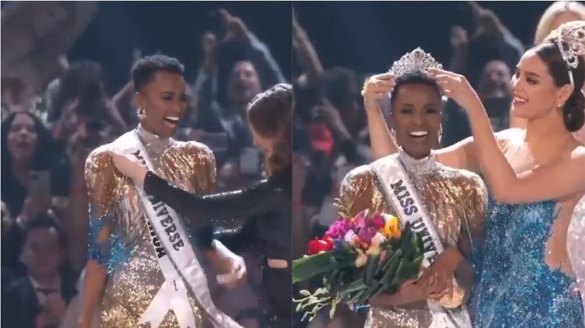 Joven sudafricana es coronada Miss Universo 2019