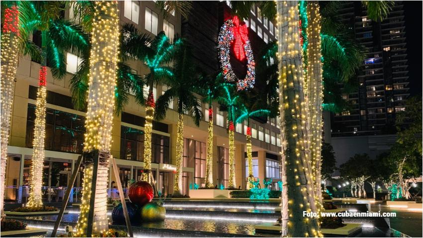 Miami entre las 20 mejores ciudades de Estados Unidos para celebrar la navidad según estudio