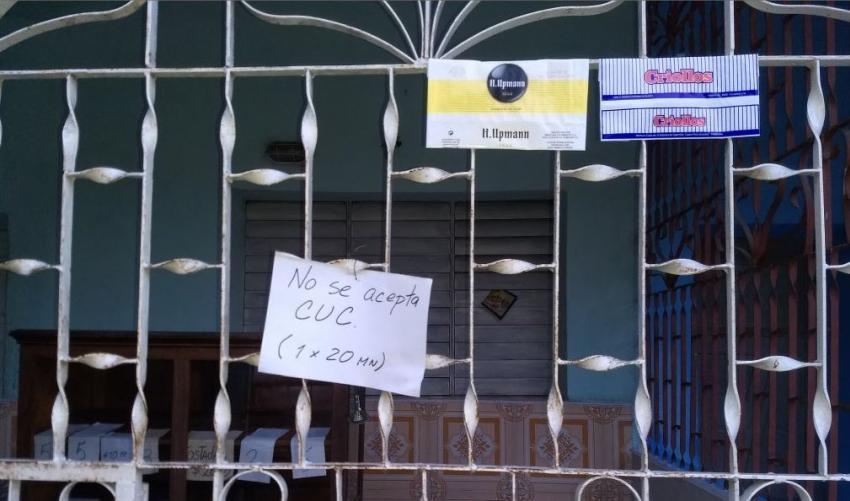 Cuentapropistas cubanos no quieren aceptar CUC en sus negocios