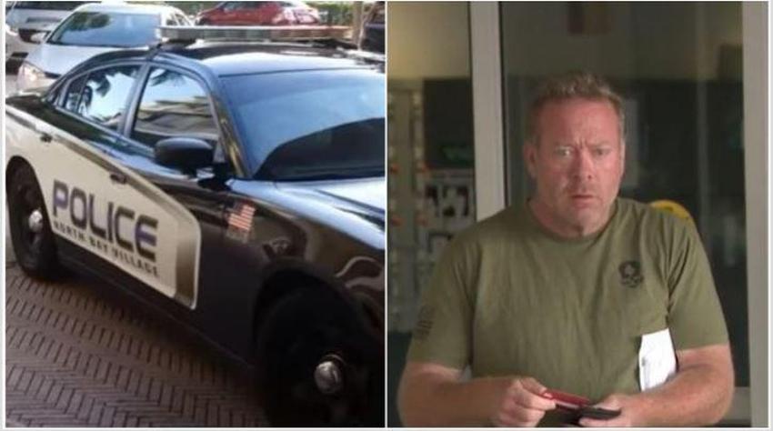 Oficial de North Bay Village en Miami Dade es arrestado por manejar borracho la patrulla policial en dirección contraria