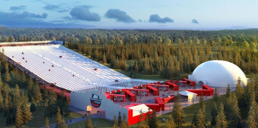 """Llegará a Florida """"Snowcat Ridge"""" en 2020, el primer parque de nieve real único de su tipo"""