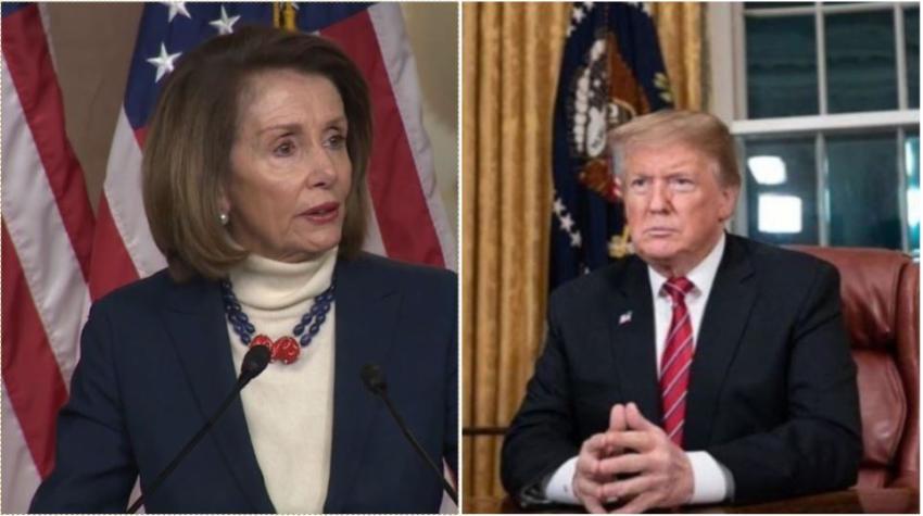 Nancy Pelosi anuncia que se avanzará a la redacción de artículos para el juicio político contra el presidente Trump