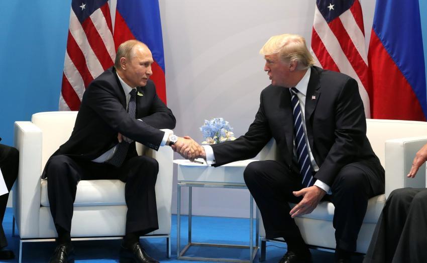 """Vladimir Putin sobre el juicio político contra Trump: """"Son acusaciones totalmente inventadas"""""""