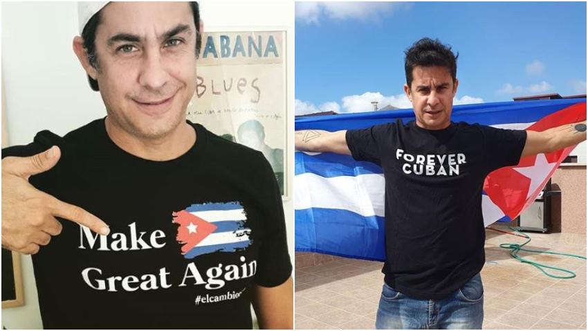 Actor cubano Roberto San Martín convoca a una manifestación virtual contra la dictadura en Cuba el próximo domingo