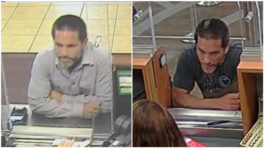 Policía busca a sospechoso de robar dos bancos en Miami el mismo día