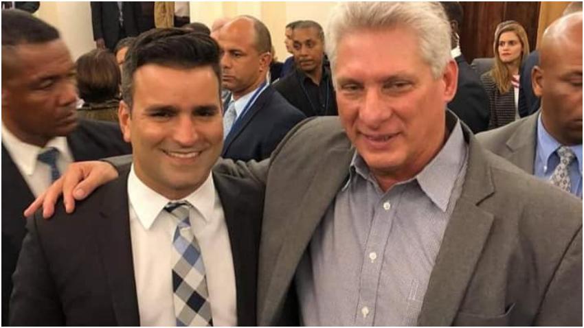 Hijo de alto dirigente de la dictadura en Cuba vive en Miami y presume de sus vínculos con los dirigentes