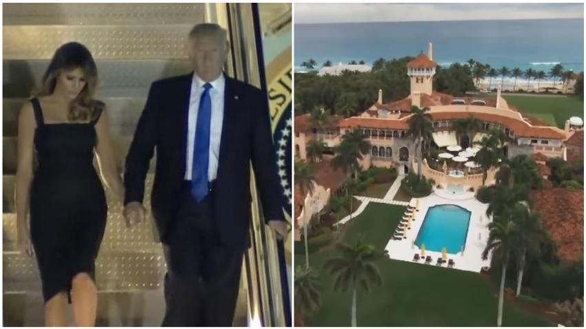 El presidente Trump pasará la Navidad y Año Nuevo en Florida