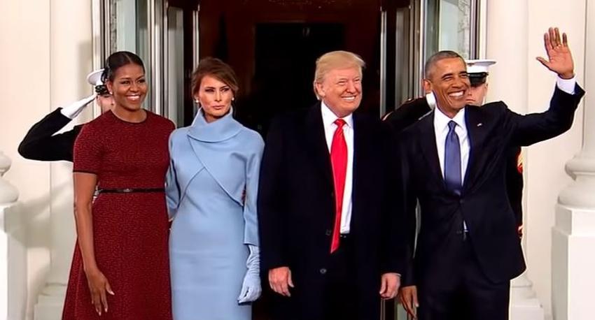 Trump y Obama empataron como los hombres más admirados en los Estados Unidos este año, Michelle la mujer más admirada, según encuesta
