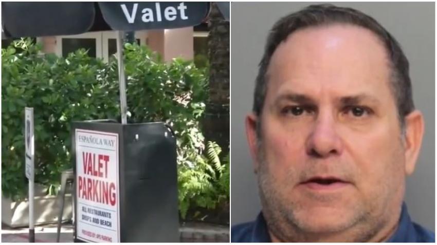 Oficial de estacionamiento de Miami Beach es acusado de extorsionar a una compañía de valet parking por dinero en efectivo