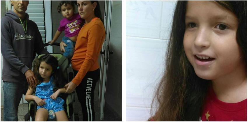 Madre cubana está desesperada, su hija necesita un estudio molecular con urgencia, la salud de la niña empeora por día
