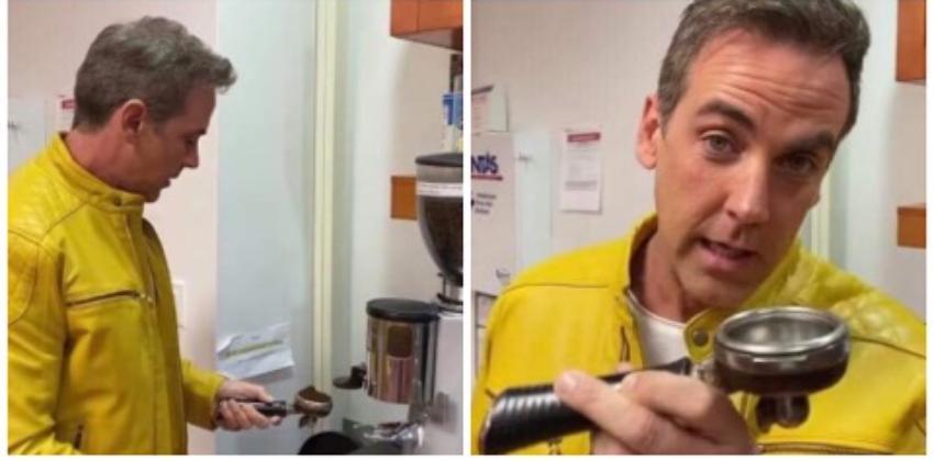 """Carlos Ponce muestra que es todo un experto haciendo una auténtica """"coladita cubana"""""""
