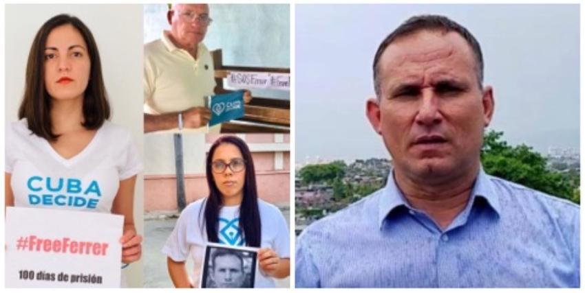 """Cuba Decide lanza campaña """"Cien días 100 voces por la libertad de José Daniel Ferrer"""""""