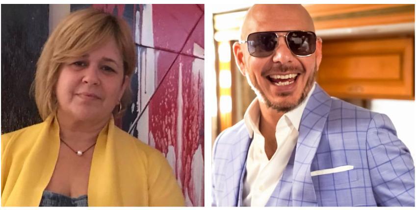 """Judith González (Magdalena La Pelúa) a Pitbull: """"Creo que le debes una disculpa a tus 305, le fallaste a la historia de tu familia"""""""