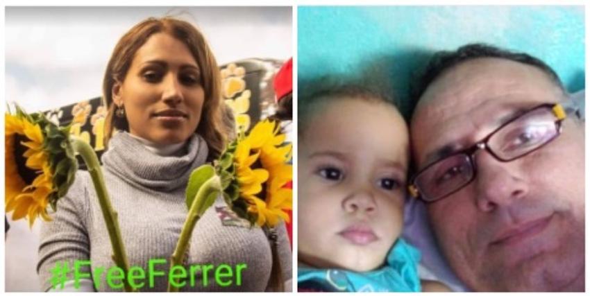 """Ex pareja de José Daniel Ferrer, y madre de una de sus hijas envía mensaje al líder opositor: """"No estás solo. Estamos contigo y familia"""""""